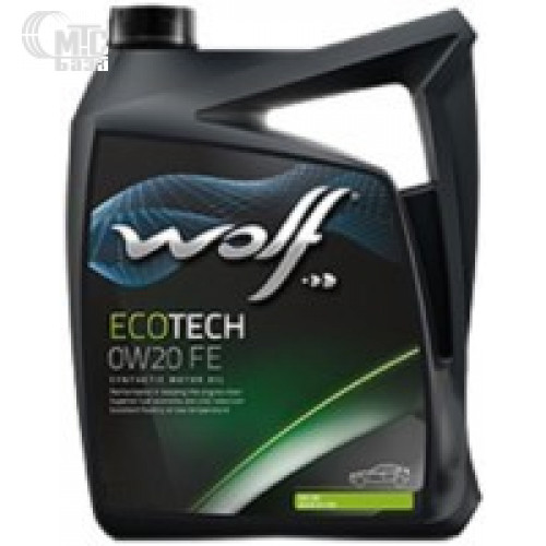 Моторное масло WOLF Ecotech 0W-20 FE 4L