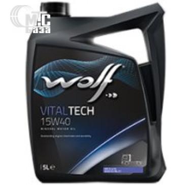 Масла Моторное масло WOLF Vitaltech 15W-40 5L