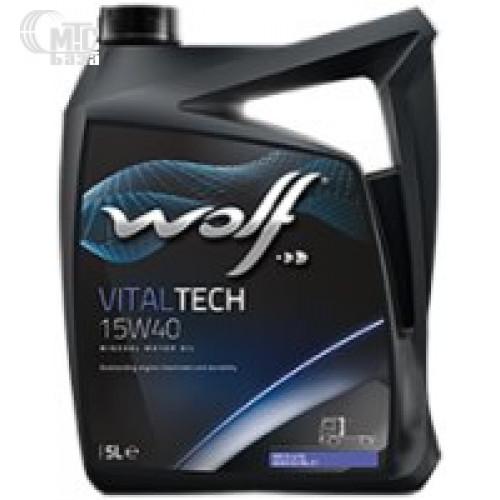 Моторное масло WOLF Vitaltech 15W-40 5L
