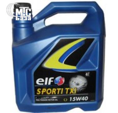 Масла Моторное масло ELF Sporti TXI 15W-40 4L