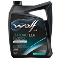 Масла Моторное масло WOLF Officialtech 5W-30 C2 5L