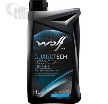 Масла Моторное масло WOLF Guardtech 10W-40 B4 Diesel 1L
