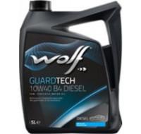 Масла Моторное масло WOLF Guardtech 10W-40 B4 Diesel 5L