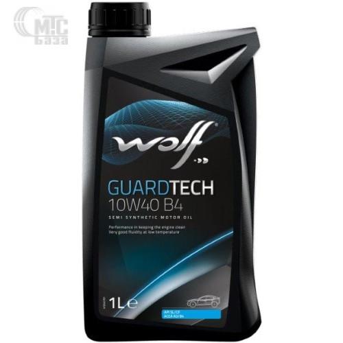 Моторное масло WOLF Guardtech 10W-40 B4 1L