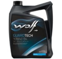 Масла Моторное масло WOLF Guardtech 10W-40 B4 4L